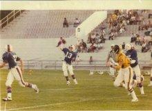 Jan Hines at Quarterback
