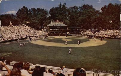 Original Little League Field at Memorial Park, Williamsport, PA.