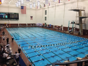 Swimming Venue for Gay Games IX-The Robert F. Busbey Natatorium, Cleveland State University (personal collection)