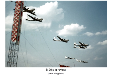 B-29s at the 1949 Cleveland Air Races. Courtesy of Aaron King.