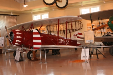Joe Mackey's 1929 Waco Model CTO Taperwing (original) at the WACO Museum, Troy, Ohio. Courtesy of Kenn Smith.