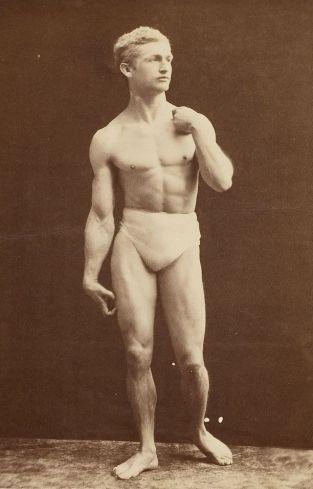 Bernarr MacFadden circa 1905.