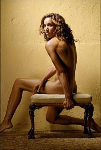 "Lolo Jones in ESPN Magazine's 2009 ""The Body"" Issue. Photograph by Sarah A. Friedman, ESPN."