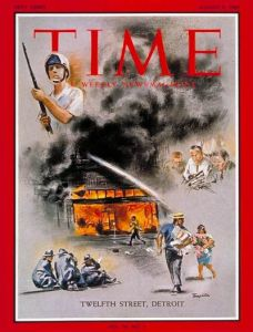 Time Magazine Cover, August 4, 1967