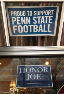 Penn State support, 2015. Courtesy of Andrew D. Linden.