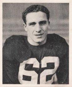 Charley Trippi, 1948 Bowman Card (Wikimedia Commons)