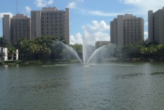 Lake Osceola near the conference venue at the University of Miami. Courtesy of Andrew D. Linden.