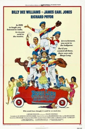 Original 1976 movie poster for The Bingo Long Traveling All-Stars and Motor Kings