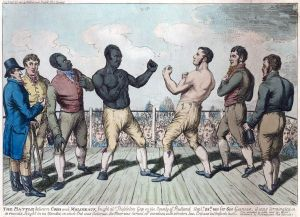 Tom Molineaux vs Tom Cribb, 1811 (Wikipedia Commons)