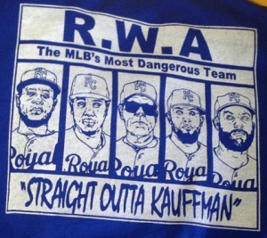 A fan created t-shirt celebrating the Roylas'