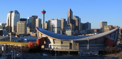 The Saddledome, one of Calgary's main venues, is currently being used by the NHL's Calgary Flames. In 1988, the Saddledome hosted the Olympic ice hockey and figure skating competitions.