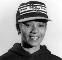Wilma Rudolph, women's track head coach at DePauw University. From depauw.edu