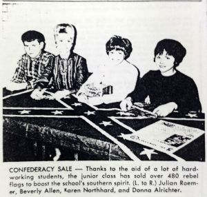 An MTSU fundraiser. 1960s.