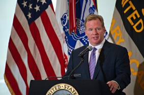 Roger Goodell. Courtesy of Wikimedia Commons.