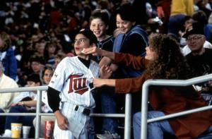 LITTLE BIG LEAGUE, Luke Edwards, Miles Feulner, Billy Sullivan, Ashley Crow, 1994, (c)Columbia Pictures