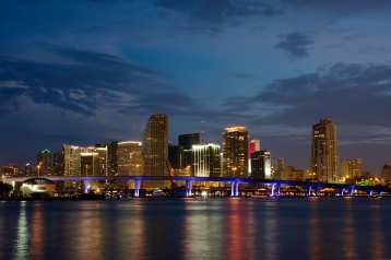 Miami, Florida, Skyline. Courtesy of Wikimedia Commons.