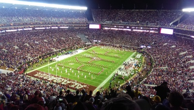 Pregrame of LSU vs. Alabama at Bryant-Denny Stadium, Nov. 7, 2015. Photo Edward J. Gray.