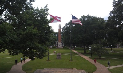 A view of the University of Alabama campus. Photo: Edward J. Gray.