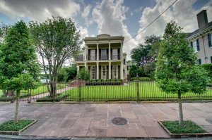 Manning family home in New Orleans' Garden District. Image from Flickr user Chris Waits.