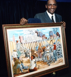 Ernie_barnes_with_in_remembrance_painting