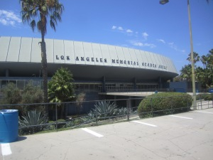 The Los Angeles Memorial Sports Arena, Photo by author
