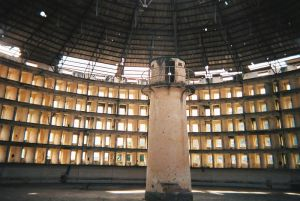 An example of a panopticon. Image courtesy of Wikimedia Commons.