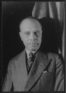 James Weldon Johnson, 1932 (Photographed by Carl Van Vechten).