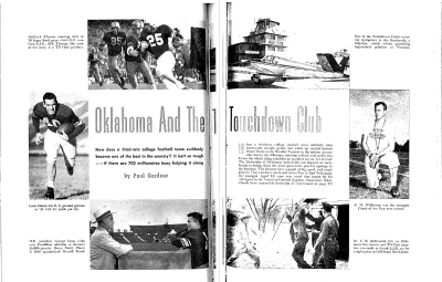 True magazine, October 1950.