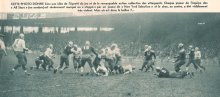 "A photo of ""Crowley's Tour"" from the French newspaper Le Miroir des Sports. December 13, 1938."