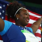 michelle-carter-shot-put-gold-medal
