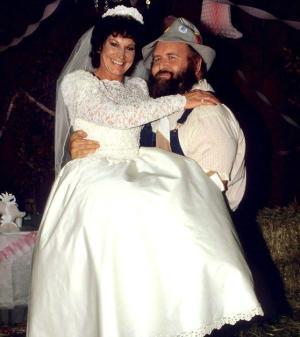 Wrestling Wedding Cake Toppers